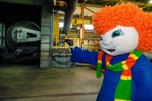 Медяшка в металлургическом цехе филиала ПСЦМ! Обратите внимание какая чистота!