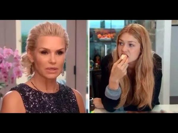 Yolanda Hadid Telling Gigi Not to Eat for 2 Minutes Straight