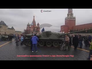 Выставка военной техники на Красной площади