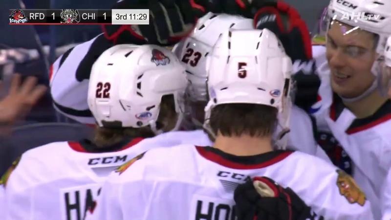 Wolves vs. IceHogs   Обзор матча   Регулярный сезон AHL 2019-20   10.11.2019