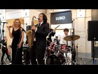 Jazz Inside - Песенка Винни-Пуха. Концерт на открытии Fashion House Outlet Centre