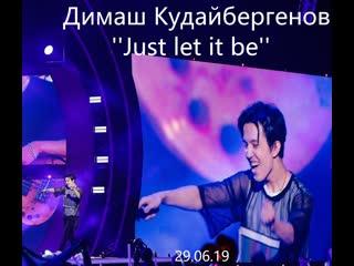 Димаш Кудайбергенов ''Just let it be'' Live (Арнау атты шоу концерт, Жанды дауыс, )