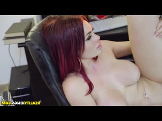 Rion king & skyla novea [ premium & redhead / heels, riding dick, shaved, old with young, cum on face, jokes]