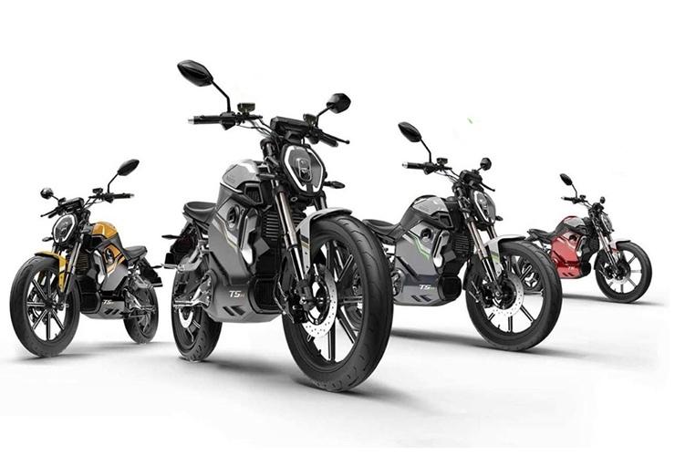 Super Soco TSx - электроцикл начального уровня