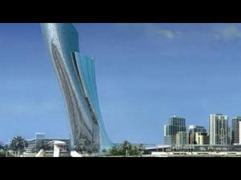 Суперсооружения Падающая башня Capital Gate National Geographic HD
