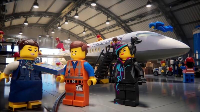 Türk Hava Yolları LEGO Filmi Kahramanları Uçuş Emniyet Videosu