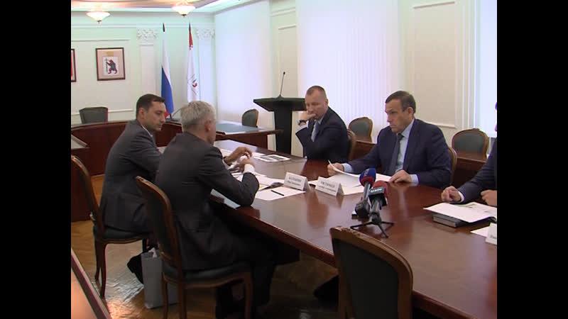 Глава Марий Эл председатель Волго-Вятского филиала Сбербанка Петр Колтыпин определили векторы сотрудничества
