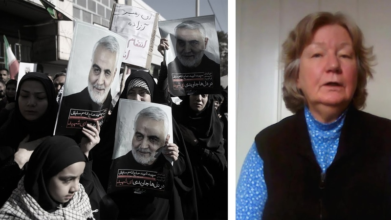 Was die Syrer vom USA Iran Konflikt halten Karin Leukefeld berichtet aus Damaskus