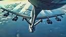 KC-135 Refuels B-52H Over Arctic Sea ATC Comms