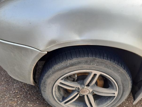 Юлаева 17,9 ноября поцарапали машину и уехали,сегодня беру...