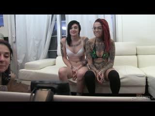 live webcam archives episode 22 (joanna angel, nikki hearts, leigh raven)
