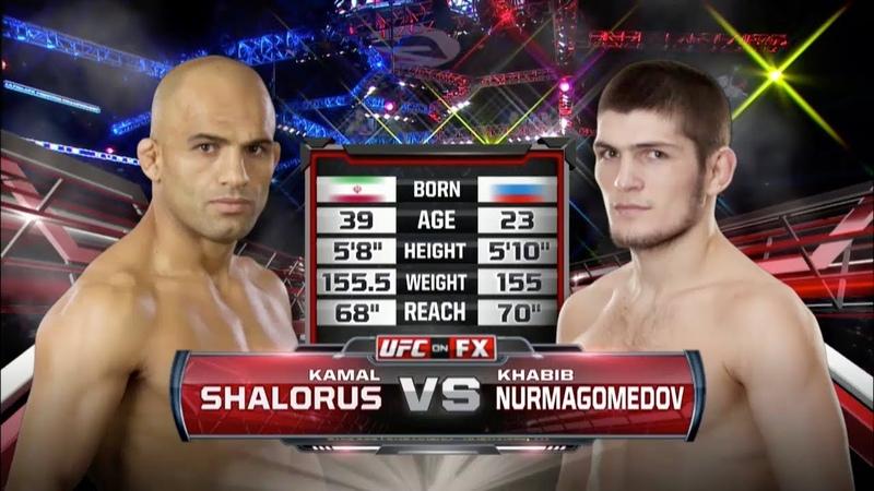 Первый бой Хабиба в UFC