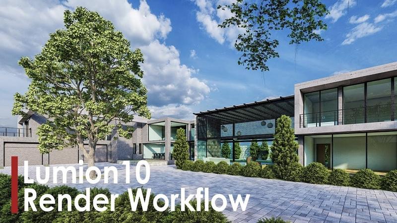 Lumion 10 | Modern Villa Rendering Workflow
