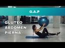 Rutina de G.A.P ( Gluteo, Abdomen, Pierna) con FITBALL
