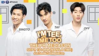 LIVE: I'm Tee Me Too Mediacon   September 15, 2020