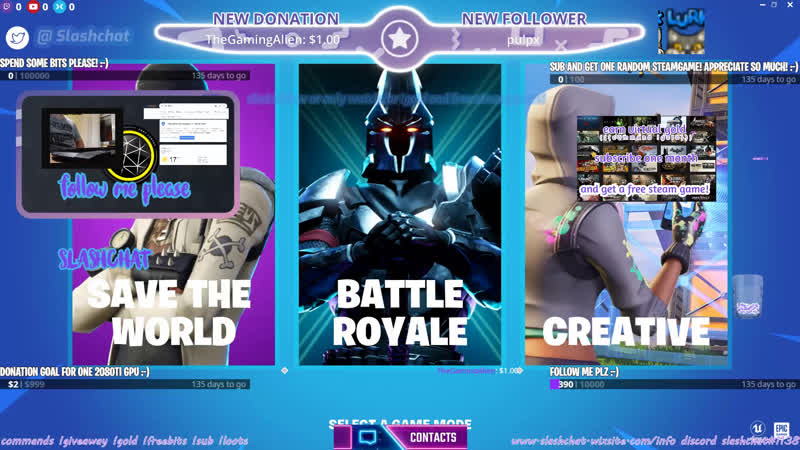 Fortnite eu zone wars live every day 24h :-) [ hrvatski deutsch english croatian balkan ]