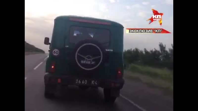 Укро-пограничники бросили КПП Червонопартизанск (4 июня 2014) :
