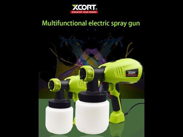 XCORT tools XQP02 400 HVLP XQP02 100 XQP04 550