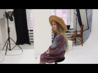 video backstage со съемки модельного портфолио
