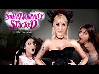 Ella Knox, Jade Baker, Maxim Law - Sapphic Succubus [GirlsWay] Lesbian