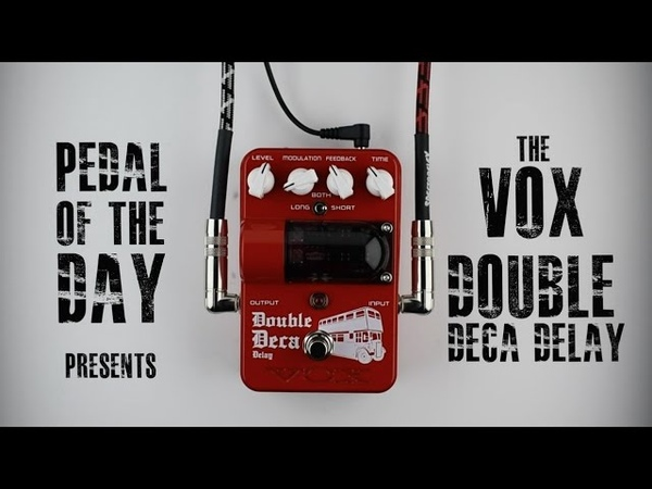 VOX Double Deca Delay Guitar Effects Pedal Demo Video