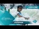 2019 ICF Canoe Slalom Junior U23 World Championships Krakow Poland / Jnr Semis – C1w, K1m