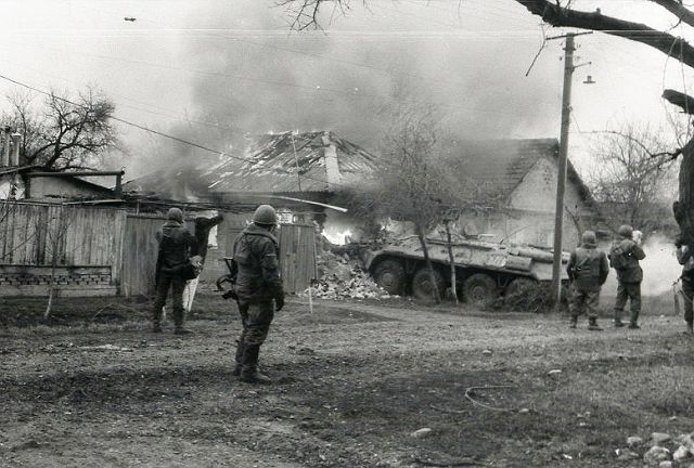 Зачистка в Самашках
