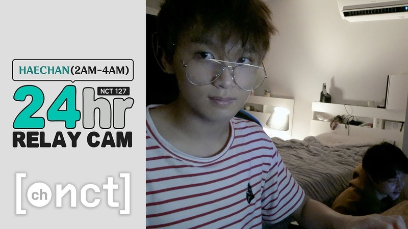 🕐HAECHAN : 2-4am|NCT 127 24hr RELAY CAM (With. 쟈니)