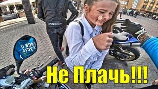 МотоБудни Ситуации на Дороге | Реакция Детей и Добрые дела