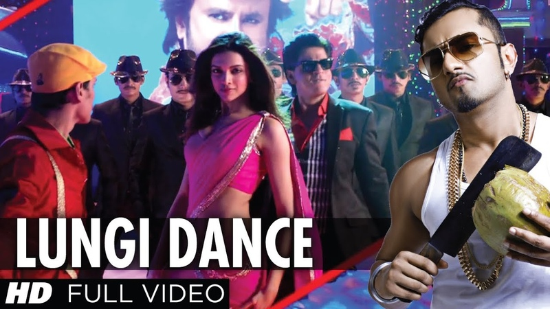 Lungi Dance Chennai Express New Video Feat Honey Singh Shahrukh Khan Deepika