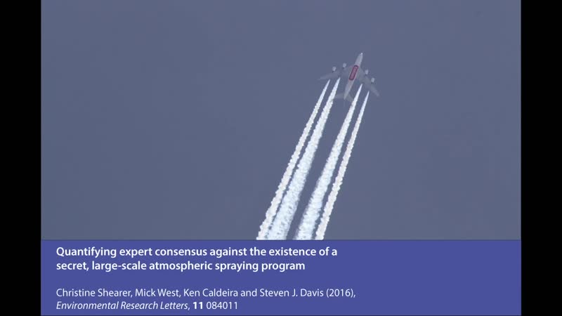 Quantifying expert consensus against the existence of a secret large scale atmospheric spraying program
