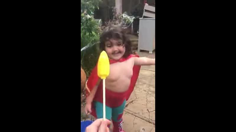 Я уже Супермен а не ребёнок
