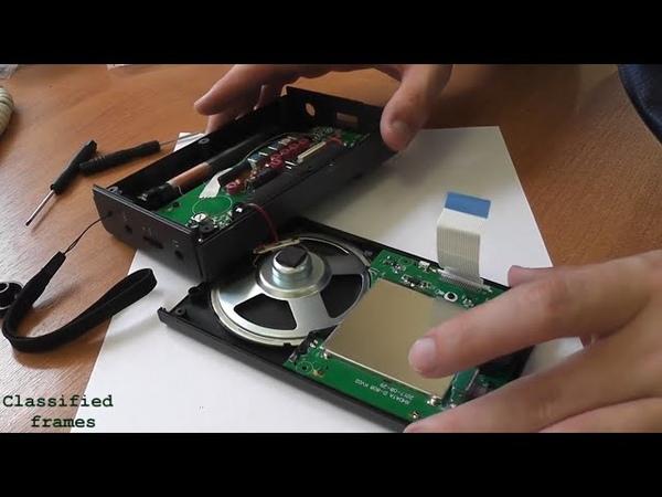 XHDATA D-808 модификация подсветки (backlight). Менее яркая подсветка, как сделать.