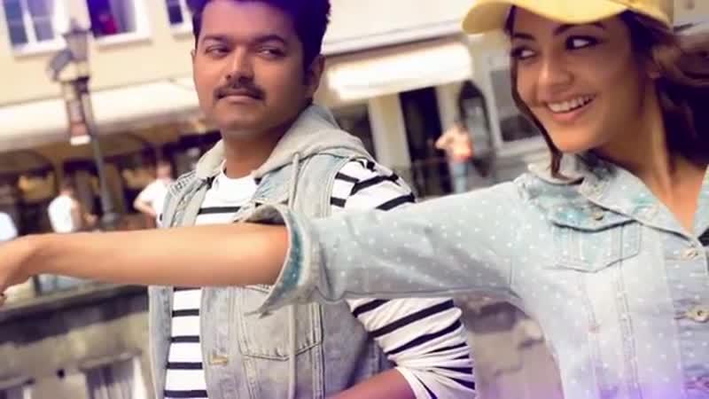Mersal - Macho -- Tamil Lyric Video _ Vijay, Kajal Aggarwal _ A R Rahman _ Atlee