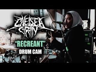 Chelsea Grin   Recreant   Drum Cam (LIVE)