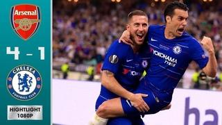 Chelsea vs Arsenal 4-1 All Goals & Highlight HD 2019