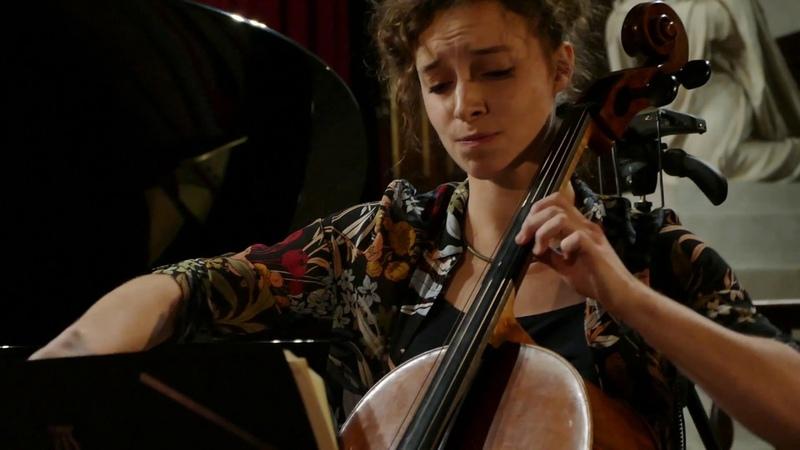 Schubert Trio No. 2 Op. 100 Andante con moto Ambroise Aubrun Maëlle Vilbert Julien Hanck