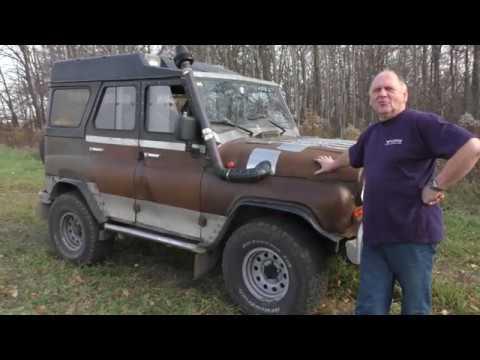 УАЗ V 8 новый инжекторный мотор Часть 1
