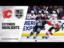 Calgary Flames vs Los Angeles Kings Oct 19 2019 Game Highlights NHL 2019 20 Обзор матча