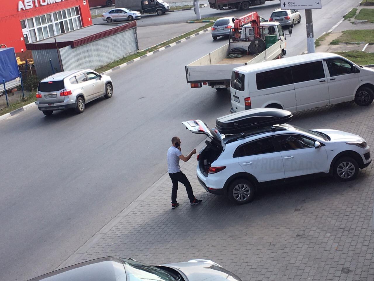 Автобокс и багажник для KIA RIO X-Line