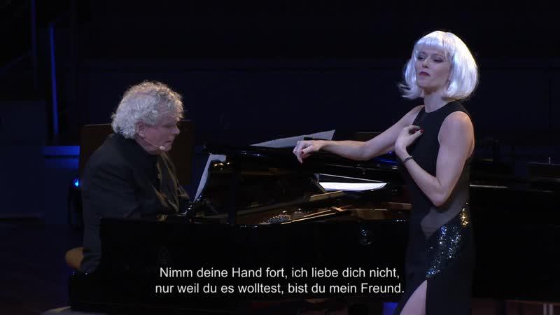 """Barbara Hannigan sings Façade"""" by William Walton 12 Jun 2015"""