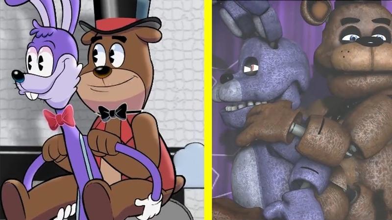 Fazbear friends (fanmade SFM FNAF animation)