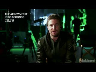 The arrowverse in 30 seconds- cast explains the dc universe - entertainment weekly