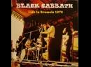 Black Sabbath Paranoid Live In Brussels1970