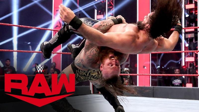 The Kingslayer Aleister Black vs Seth Rollins Raw June 1 2020