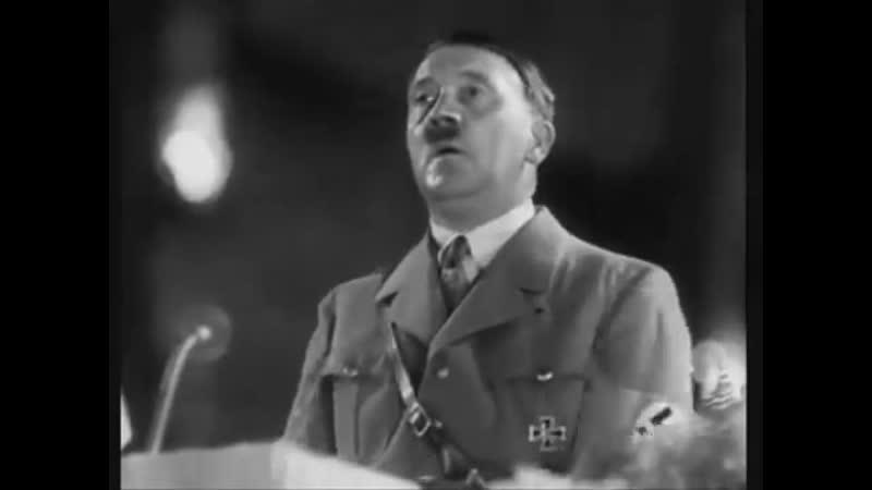 Discorso di Hitler ai membri del Partito Nazional Socialista dopo la vittoria nelle elezioni 1933