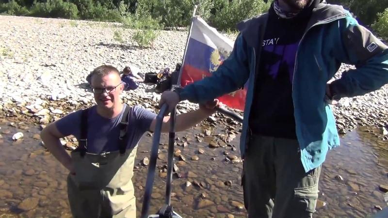 Доставка туристов по реке Тайдон Аэролодка Нерпа дизель 300 л с