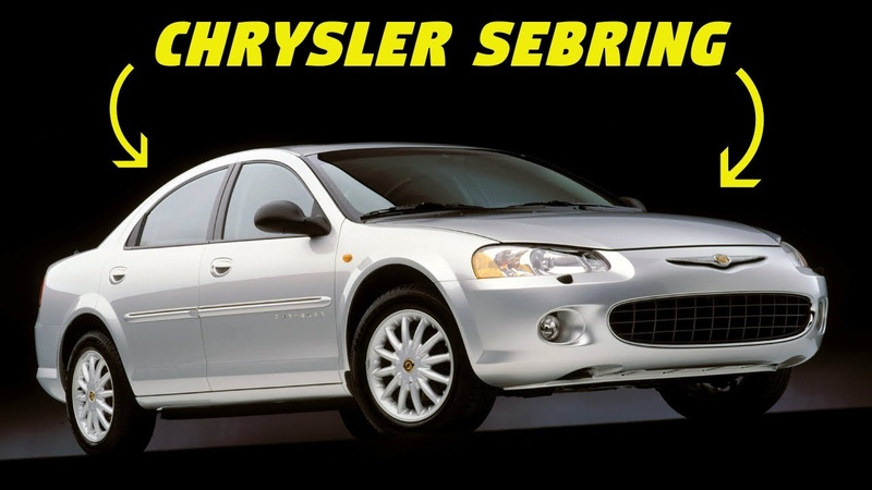Chrysler Sebring - History, Major Flaws, Why It Got Cancelled (1995-2010) - ALL 3 GENS