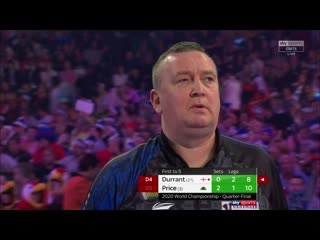 Glen Durrant vs Gerwyn Price (PDC World Darts Championship 2020 / Quarter Final)
