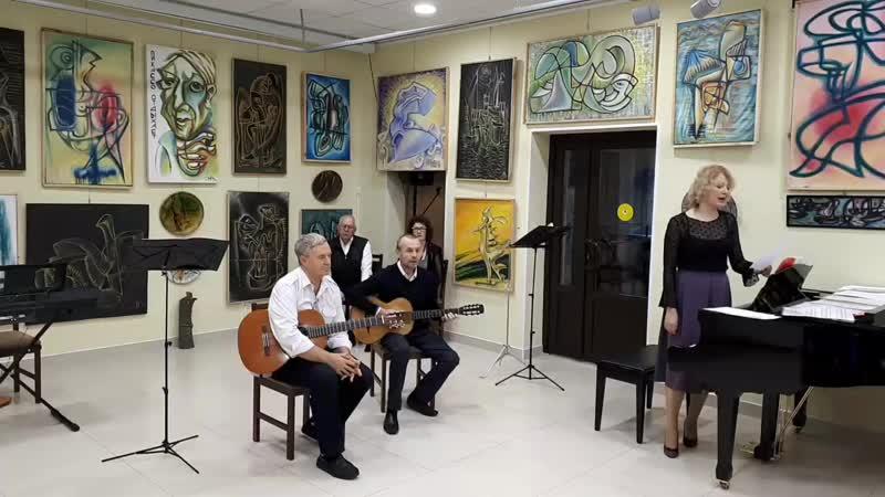 Ансамбль Крещендо ЦККД Павловск Музыкальная гостиная музейно-выставочного центра
